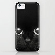 Black Cat iPhone 5c Slim Case