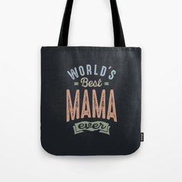 Best Mama Tote Bag