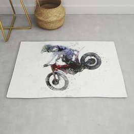 Nose Stand - Motocross Move Rug