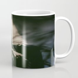 Dancing people, dance, shadows, hands and plants, blurred photography, artistic, forest, yoga Coffee Mug