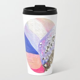 Abstraction World #1. Round version 2 Travel Mug
