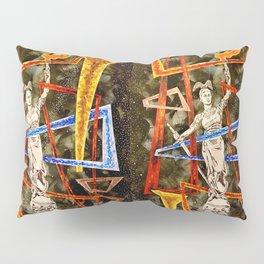 Monumental geometric Pillow Sham