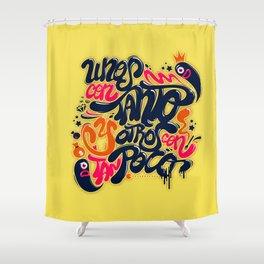 Unos con tanto... Shower Curtain