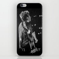 niall iPhone & iPod Skins featuring Niall by Drawpassionn