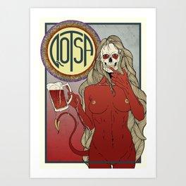 QOSTA Art Print