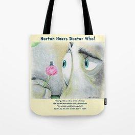 Horton Hears a Doctor Who Tote Bag