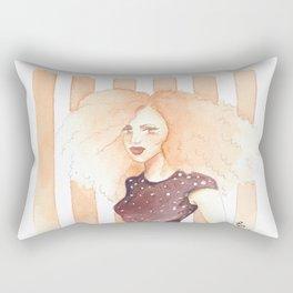 Coral Calliope Rectangular Pillow