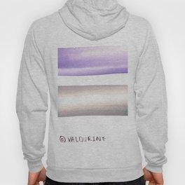 Violet Black |Watercolor Brush Stroke |watercolor home decor Hoody