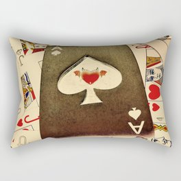 The Devil's Spade Rectangular Pillow