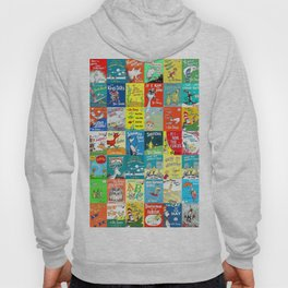 Dr. Seuss Book Covers Hoody
