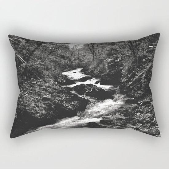Vintgar Gorge, Bled, Slovenia. Rectangular Pillow