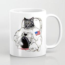 Astronomically Curious Cat Coffee Mug