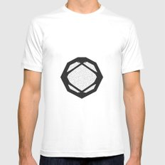 Symbol Mens Fitted Tee White SMALL