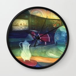 Inside Out and Outside In Wall Clock