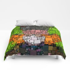 The Mad Hatter Comforters