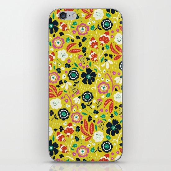 Flourishing Florals iPhone & iPod Skin