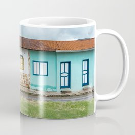 Typical colorful houses from colonial cities of Minas Gerais, Brazil Coffee Mug