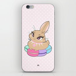 Bunnies - Macarons iPhone Skin