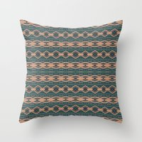 rio Throw Pillows featuring Rio by bunglo by shay spaniola