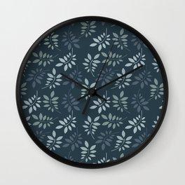 Beautiful Falling Leaves Wall Clock