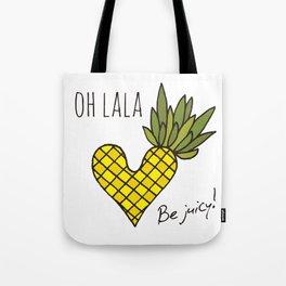 Oh lala!  Tote Bag