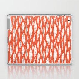Quail Feathers (Poppy) Laptop & iPad Skin