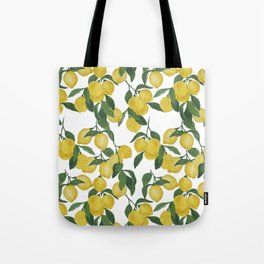 Lemons on Cloud Tote Bag
