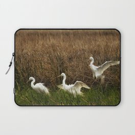 Egret Landing Laptop Sleeve
