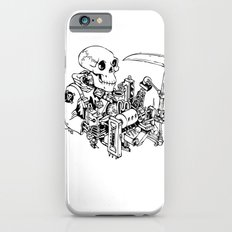 Grim Reaper - Power Scythe iPhone 6s Slim Case