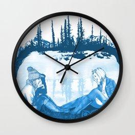 Winter Dreams Artwork Wall Clock