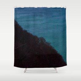 Half half Shower Curtain