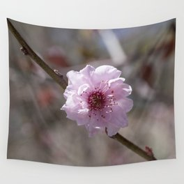 Peach Flower Wall Tapestry