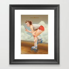 Pinup Framed Art Print