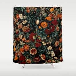 EXOTIC GARDEN - NIGHT XXI Shower Curtain