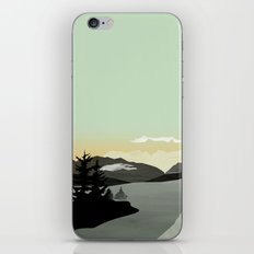 Misty Mountain II iPhone & iPod Skin