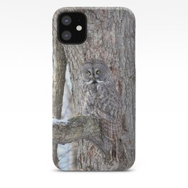 Great gray camouflage iPhone Case