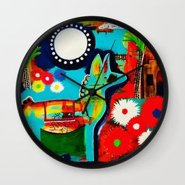 Mexican Love Wall Clock
