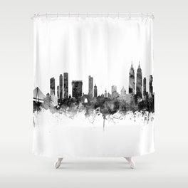 Mumbai Skyline India Bombay Shower Curtain