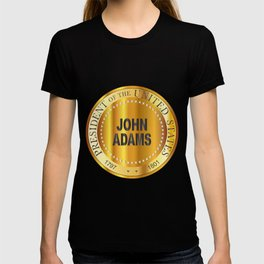 John Adams Gold Metal Stamp T-shirt