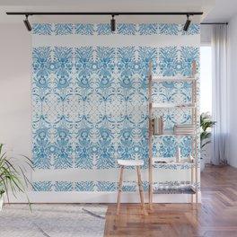 Azulejos Ladies - Handpainted Watercolor Wall Mural