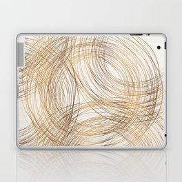Metallic Circle Pattern Laptop & iPad Skin