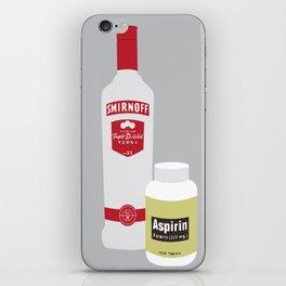 Vodka & Aspirin iPhone Skin