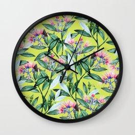 Floral Cure #society6 #decor #buyart Wall Clock