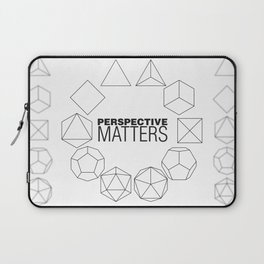 Perspective Matters Laptop Sleeve