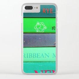 Agatha in Green Clear iPhone Case