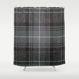 Highland Granite Tartan Shower Curtain