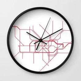 London Tube Wall Clock