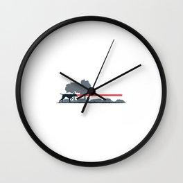 Laser Pointer Wall Clock