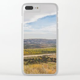 Badlands, Theodore Roosevelt NP, ND 23 Clear iPhone Case