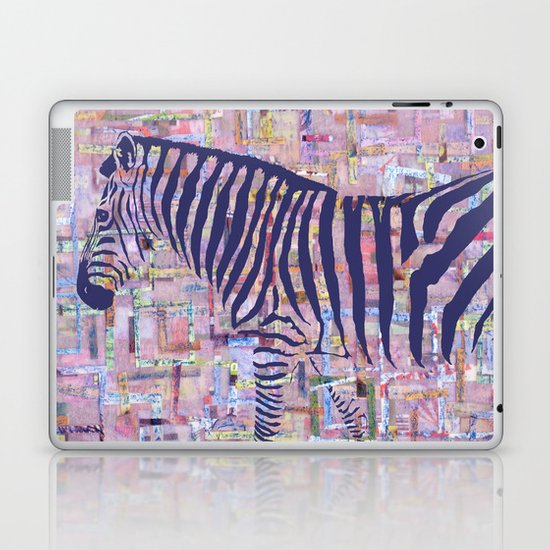 Zelda the Zebra Laptop & iPad Skin